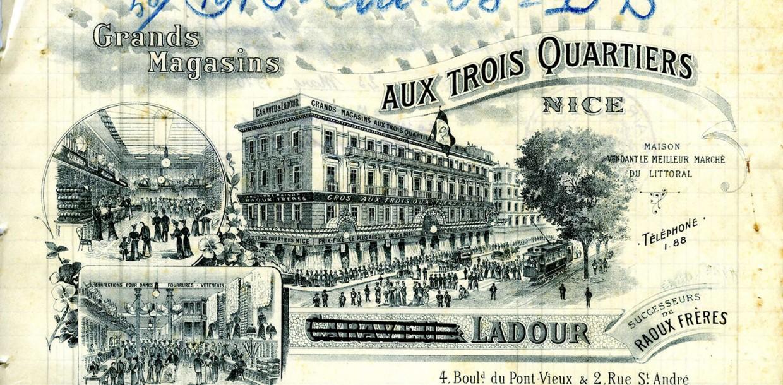 Illustration : Nice 1914, Le basculement dans la guerre