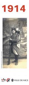 Kakemono 1 : Nice 1914, Le basculement dans la guerre