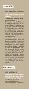 Verso du marque page 1416 Nice et la Savoie, du comté au duché