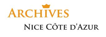 Logo des Archives Nice Côte d'Azur