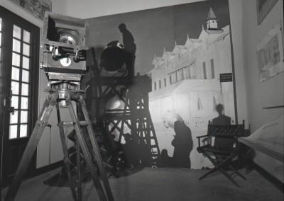 Un plateau à la Victorine - Photographie noir et blanc, septembre 1984
