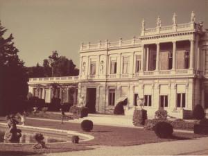 Villa Les Palmiers à Nice vers 1950-1958