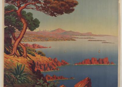 Morel de Tangry (1857-1930). La Côte d'Azur, [ca 1910].