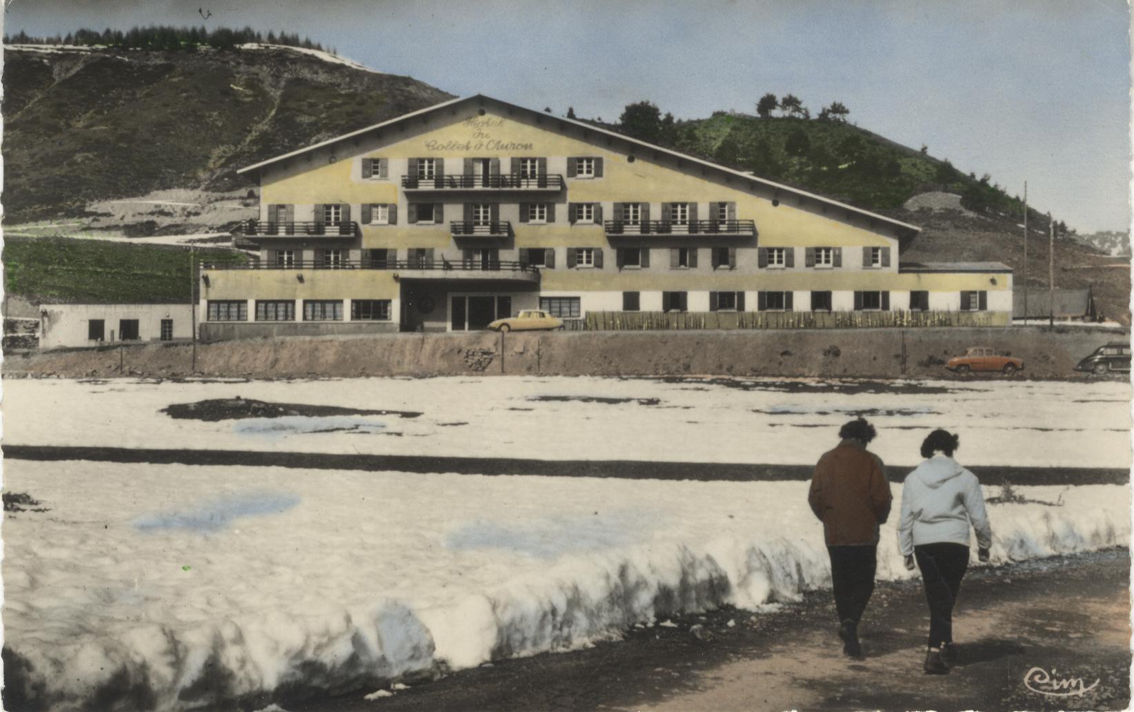 L'hôtel du Collet à Auron
