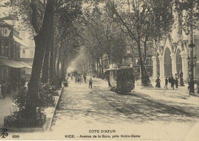 Avenue de la Gare, près Notre-Dame