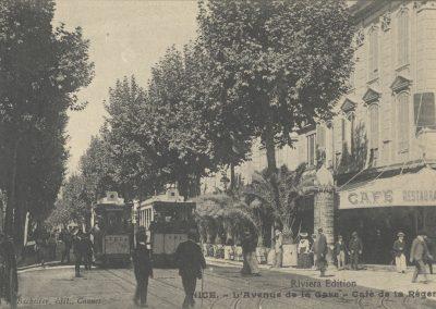 Avenue de la Gare, Café de la Régence