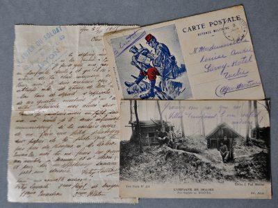 Correspondance du soldat Laurenti