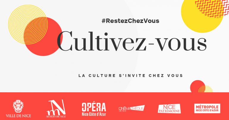 Logo de l'opération Cultivez-vous de la ville de Nice