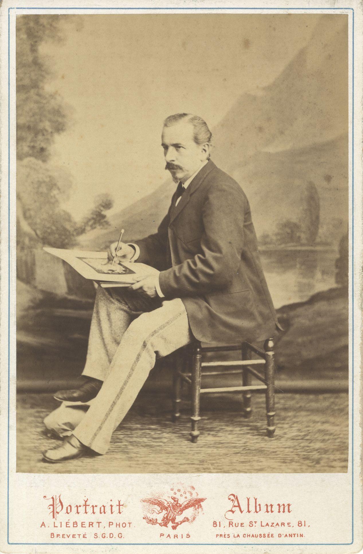 Portrait du peintre Hercule Trachel