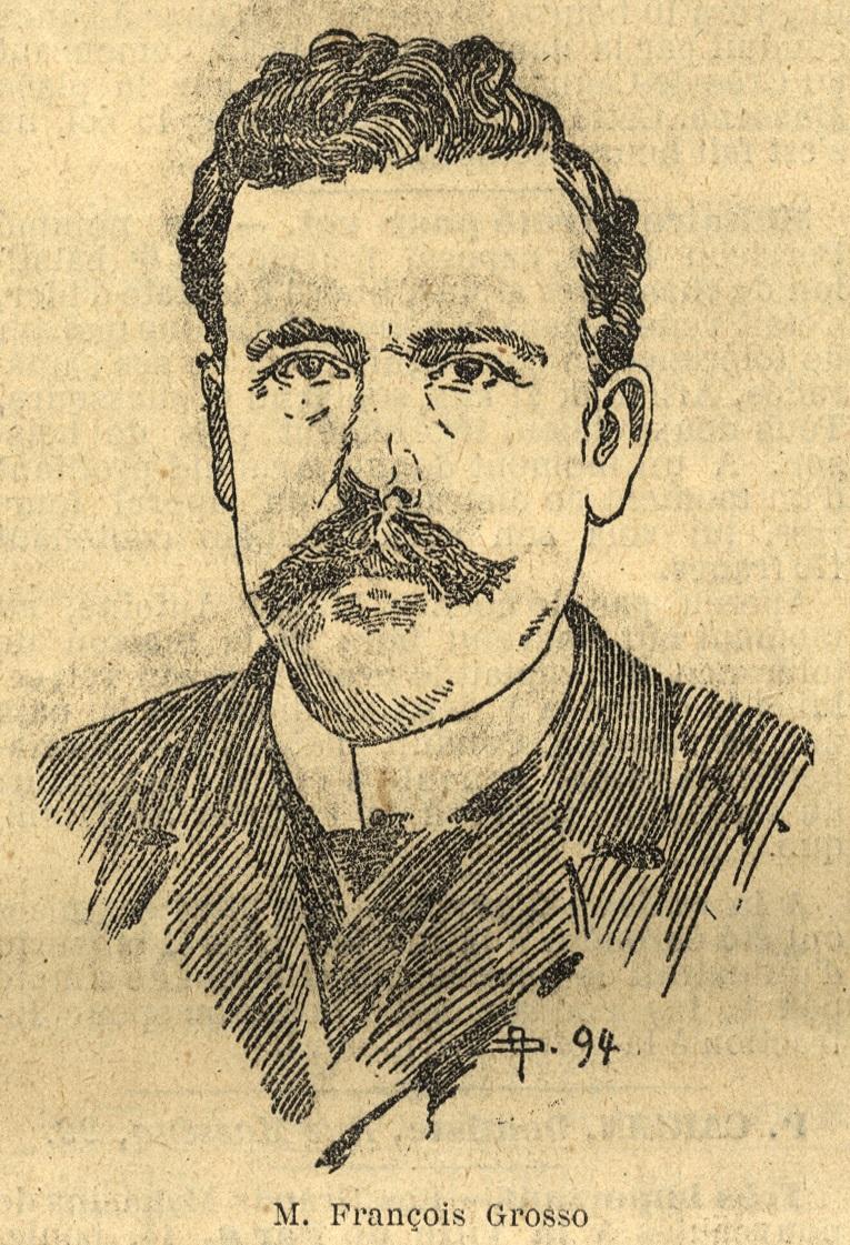 Portrait de François Grosso