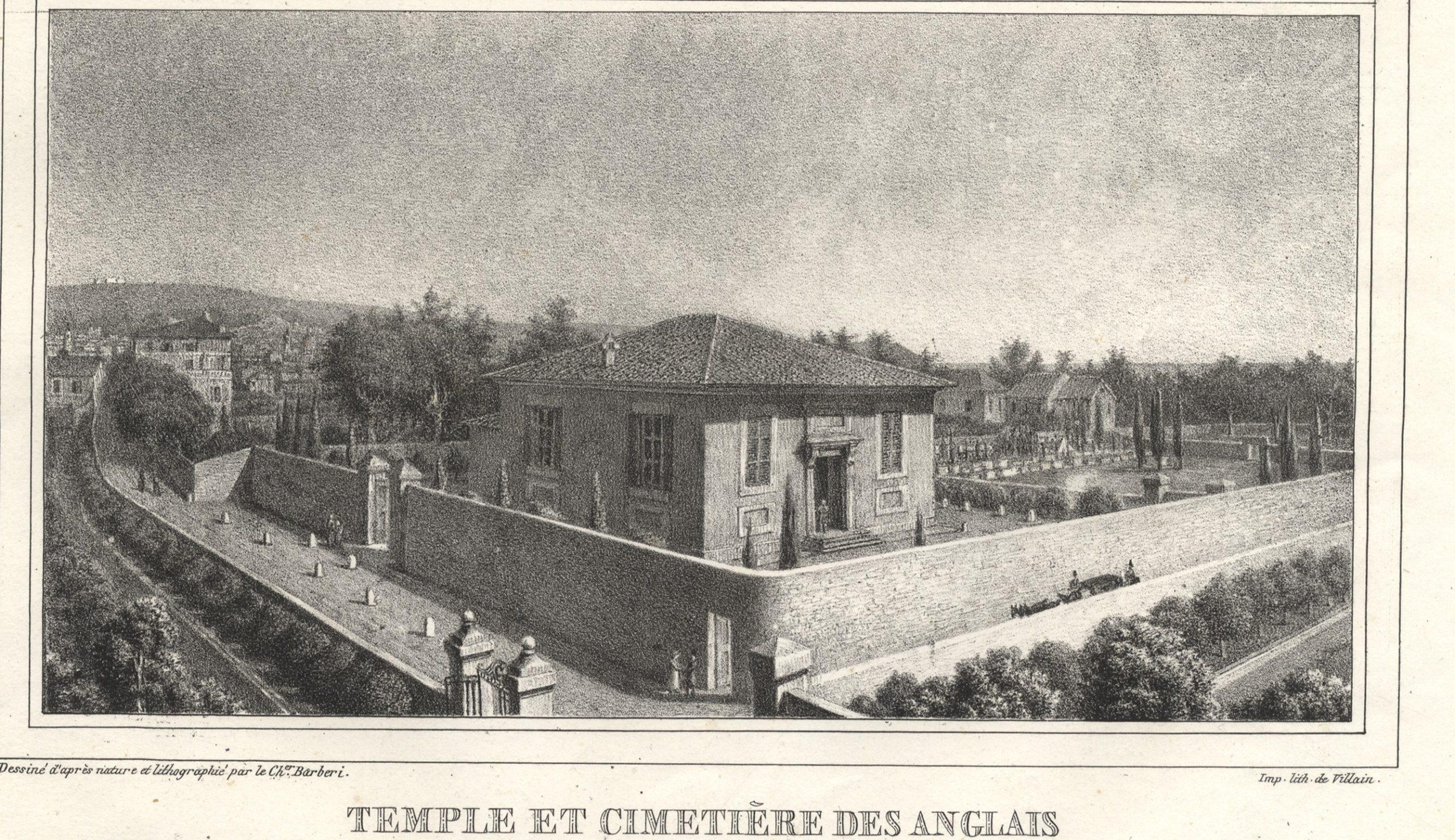Photographie des rues Trachel et de l'Abbé-Grégoire en 1970