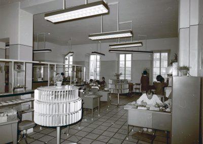 Bureaux du CCAS, place Pierre-Gautier, juin 1970