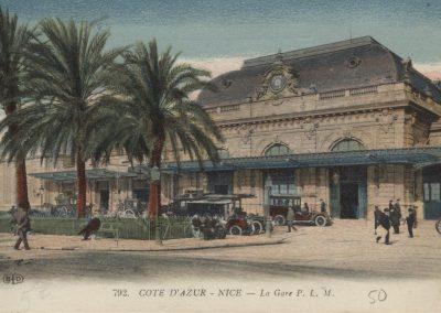 La Gare PLM au début du XXe siècle