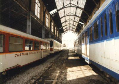 Trains en Gare du Sud