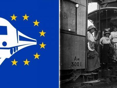 L'année du rail, bandeau