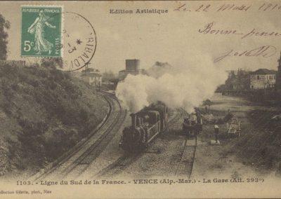 La gare de Vence