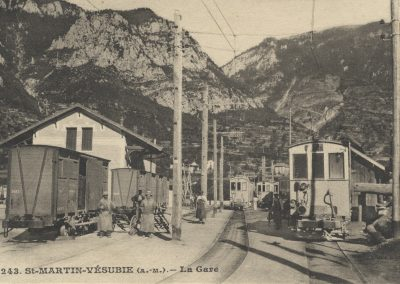 La gare de Saint-Martin-Vésubie